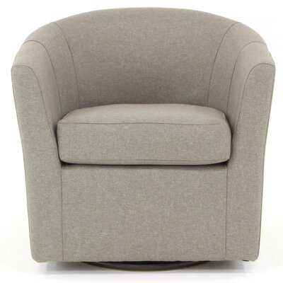 Molinari Swivel Barrel Chair - Wayfair
