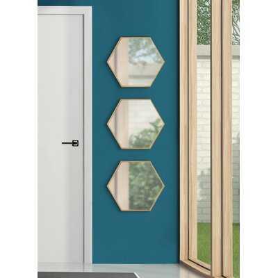 3 Piece Mendonca Mirror Set - Wayfair