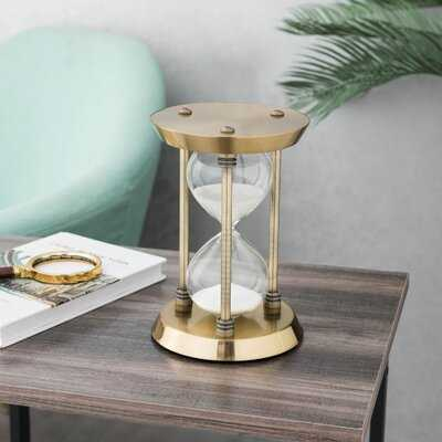 Brayden Classic Decorative Hourglass - Wayfair
