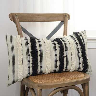 Rectangular Cotton Pillow Cover & Insert - Wayfair