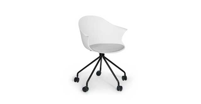 Lumvig White Office Chair - Article