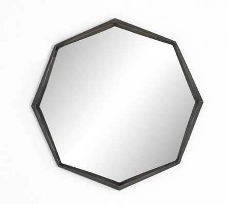 "Sterling Octagon Wall Mirror, 30.25""W, Aluminum - Pottery Barn"