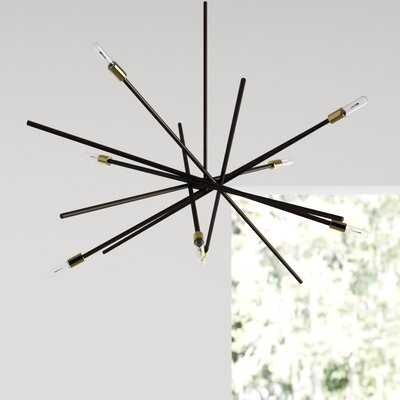 Virgil 8 - Light Sputnik Modern Linear Chandelier - AllModern