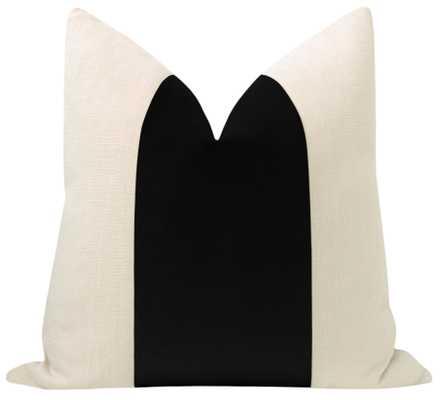 "PANEL :: Classic Velvet // Caviar - 20"" X 20"" - Little Design Company"