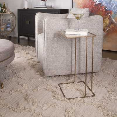 Cadmus Gold Side Table - Hudsonhill Foundry
