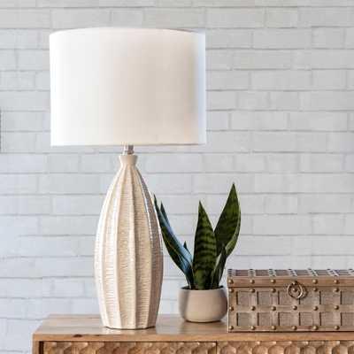 "Hilo 27"" Ceramic Table Lamp - Loom 23"