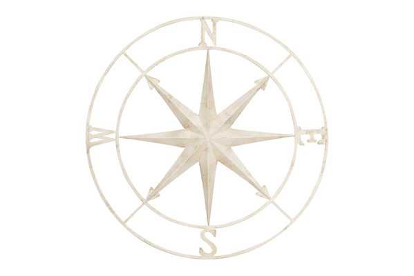 41 Inch Decorative Wall Compass - Nomad Home