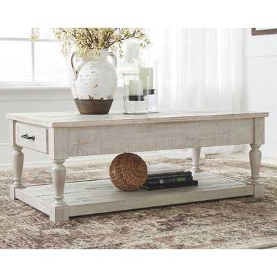 Theron Coffee Table with Storage - Wayfair