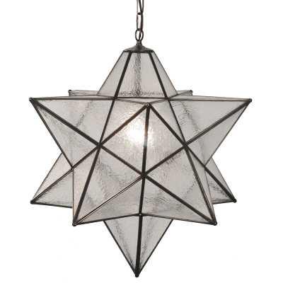 Meyda Tiffany Moravian Star 1 - Light Single Star Pendant Shade Color: Seedy - Perigold