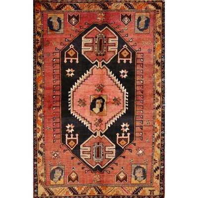 Oriental Red/Black Area Rug - Wayfair