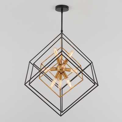 Alson 9-Light Unique / Statement Geometric Chandelier - Wayfair
