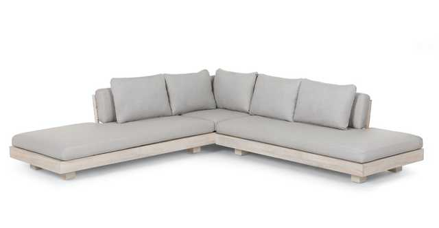 Lubek Beach Sand Sectional - Article