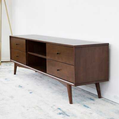 "Erbe Solid Wood TV Stand for TVs up to 88"" - Wayfair"
