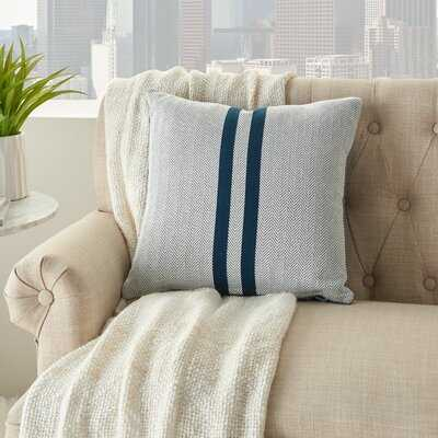 Agilar Cotton Chevron Throw Pillow - Wayfair