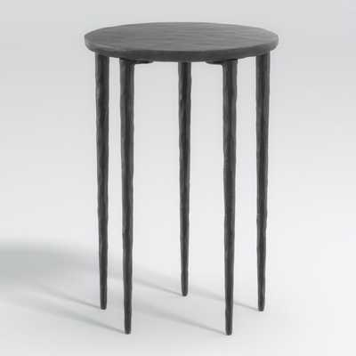 Staal Cast Aluminum End Table - Crate and Barrel