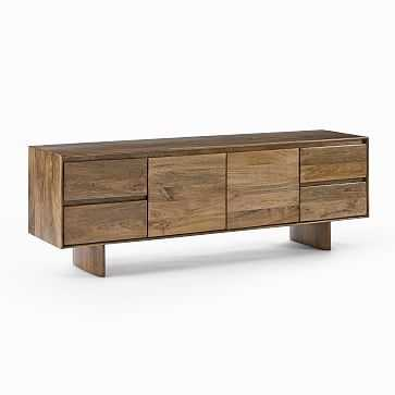 "Anton Media Console, Burnt Wax, 68"" - West Elm"