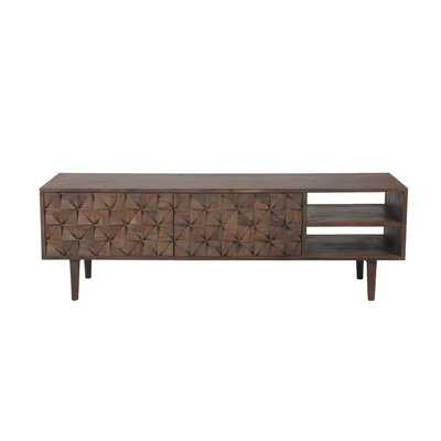 """Giovanna Solid Wood TV Stand for TVs up to 65"""" - Wayfair"""