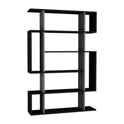 Callum Modern Geometric Bookcase - AllModern