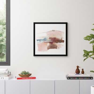Earth Horizon I by Jennifer Goldberger - Picture Frame Painting Print on Paper - AllModern