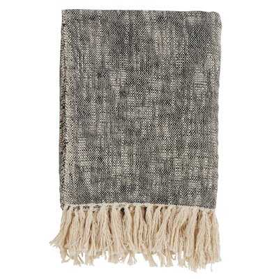 Bittle Tasseled Cotton Throw - Birch Lane