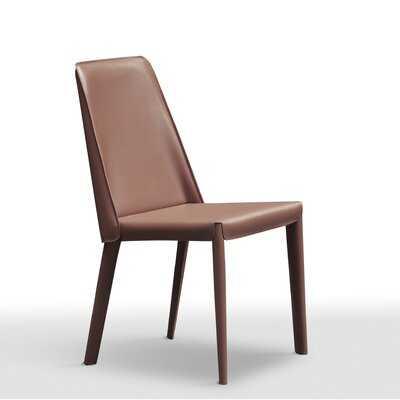 Leather Dining Chair - Wayfair
