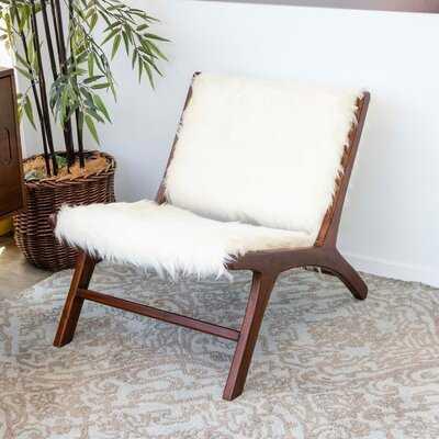 Mid Century Modern Quillen  Lounge Chair - Wayfair