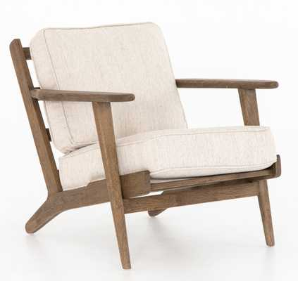 Austin Lounge Chair, Avant Natural - Lulu and Georgia