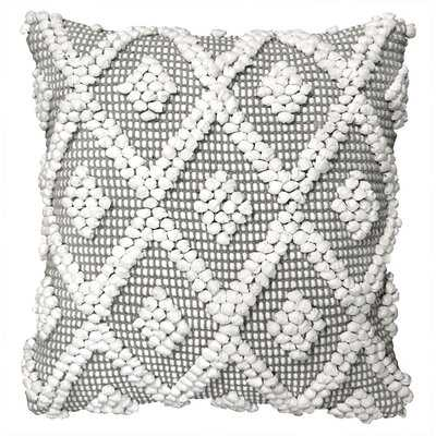 Geometric Square Pillow Cover - Wayfair