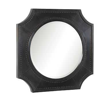 "Williamsburg Wall Mirror, Black, 27"" X 2"" X 27"" - Pottery Barn"
