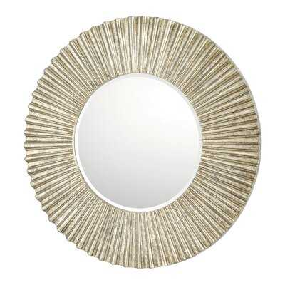 Dhruv Round Accent Mirror - Wayfair