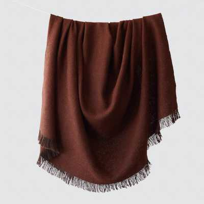 La Calle Alpaca Throw - Rust By The Citizenry - The Citizenry