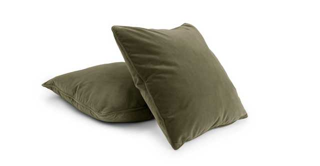 Lucca Juniper Green Pillow Set - Article