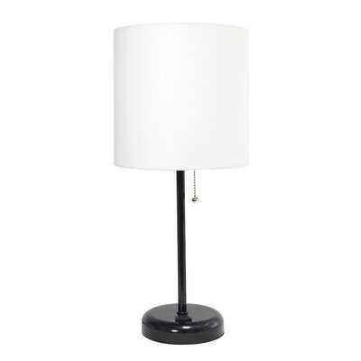 "Zainab 20"" Black Table Lamp - AllModern"