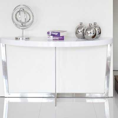 "Oyster 55"" Console Table - Wayfair"