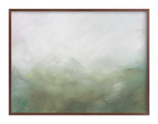 Morning Mist Art Print - Minted