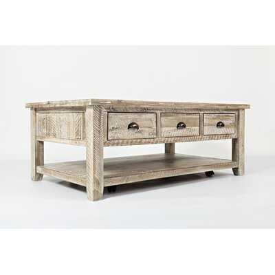 Jalynn Coffee Table with Storage - Birch Lane
