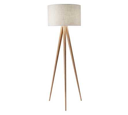 Ibra Floor Lamp, Natural - Pottery Barn