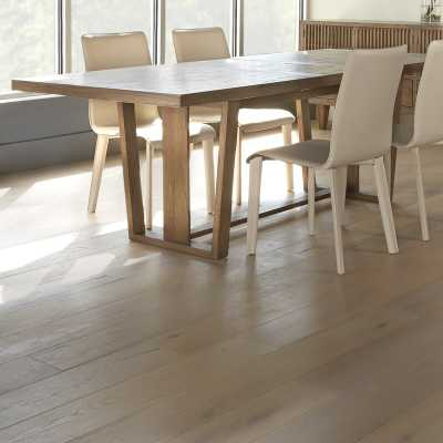Maria Yee Katsura Extendable Dining Table Finish: Ginger - Perigold