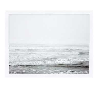 "Rolling Surf Framed Print, 26"" x 20"" - Pottery Barn"