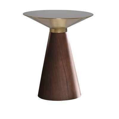 Iris End Table - Wayfair