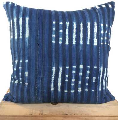 Vintage Indigo Pillow - Insert not included - Etsy