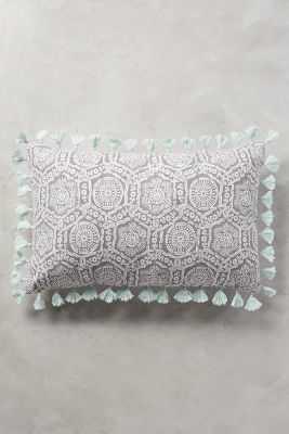 """Folding Fans Pillow - 16"""" x 26"""" - Polyfill - Anthropologie"""