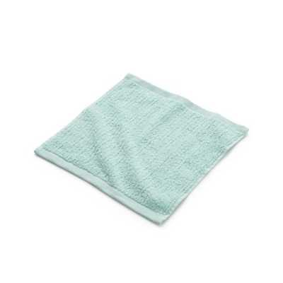 Ribbed Seafoam Washcloth - Crate and Barrel