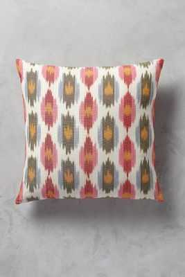 Erinna Ikat Pillow, insert included - Anthropologie