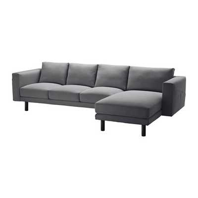 NORSBORG Sofa and chaise - Ikea