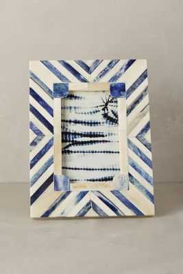 Cassos Frame, Blue, 4'' x 6'' - Anthropologie