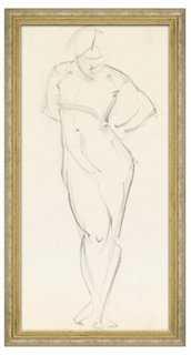 Woman Figure - framed - One Kings Lane