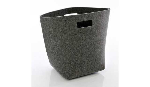 Hey-Sign Felt Wastebasket L - ambientedirect.com