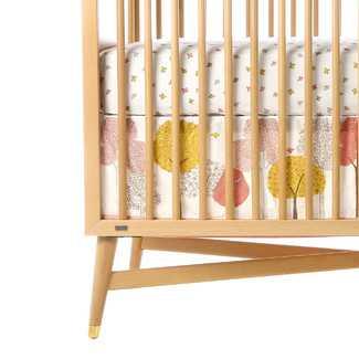 DwellStudio Treetops Canvas Crib Skirt - Wayfair