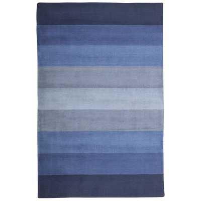"Aspect Blue Stripes Area Rug-8""x10"" - AllModern"